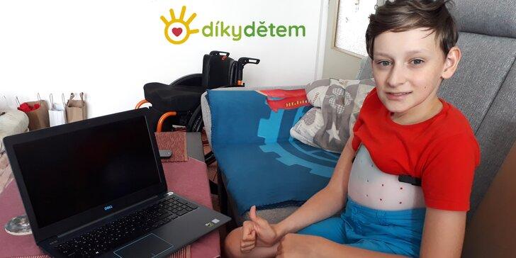 Plzeňský projekt Díky dětem: příspěvek pro děti s autismem nebo v onkologické léčbě