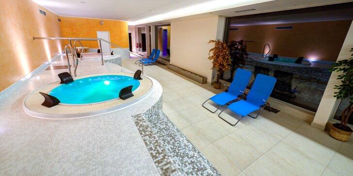 Dovolená v přírodě Jizerek pro dva i rodinu: polopenze, wellness i bazén