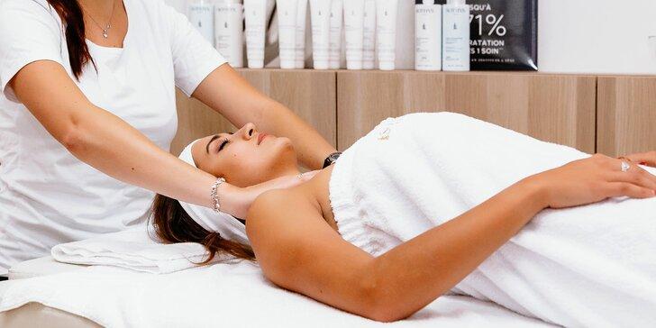 Kompletní kosmetické ošetření pleti s denním líčením a lymfodrenáží