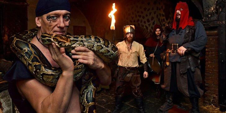 Noc v dětenickém hotelu Rustikal: středověký program, hostina i košt piva