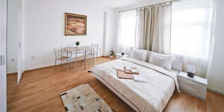 Pohoda v Karlových Varech až v 5 osobách: moderní apartmány s kuchyňkou