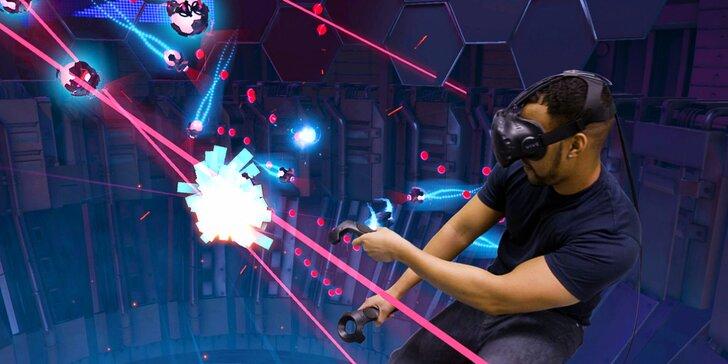 Virtuální realita na špičkovém herním zařízení HTC Vive: 55 minut až pro 4 hráče, kopa různých her