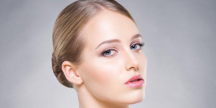 Kosmetické ošetření pleti: péče o normální či náročnější pleť ve skvěle hodnoceném salonu