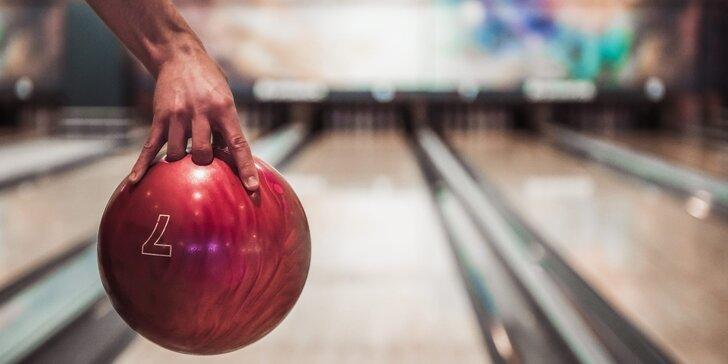 Pronájem bowlingové dráhy na 2 hodiny až pro 6 hráčů