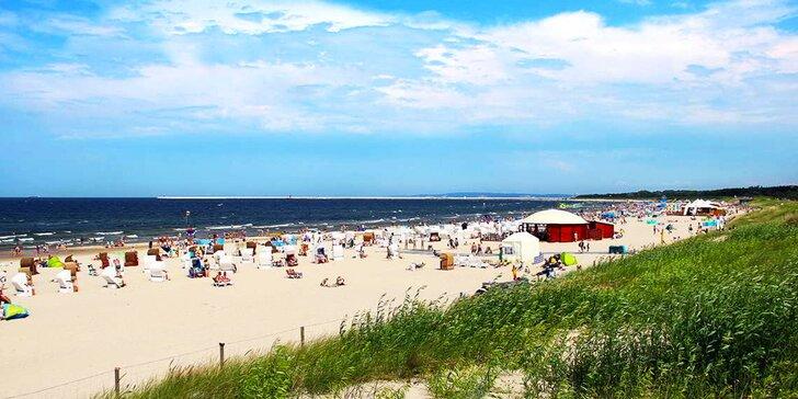 Až 8 dní u Baltského moře: pobyt pro 2–3 os. v Polsku s polopenzí