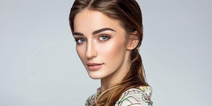 90 minut kosmetické péče pro dámy včetně mikromasáže očního okolí