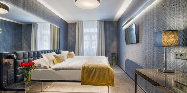 Praha podzimní i zimní: pobyt se snídaní v hotelu v Karlíně kousek od metra