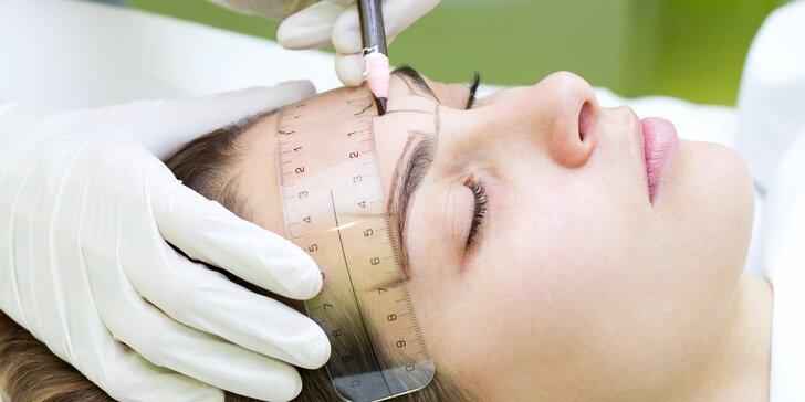 Permanentní zkrášlení: tetování obočí či očních linek