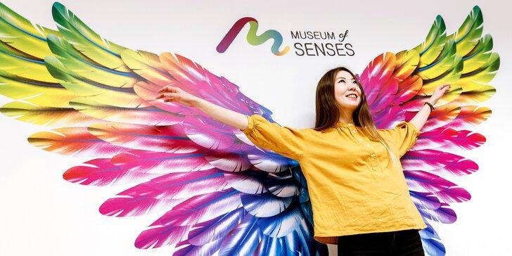 Vstupenky do interaktivního Muzea Smyslů plného optických klamů a iluzí