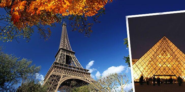 Víkendový poznávací výlet do Paříže
