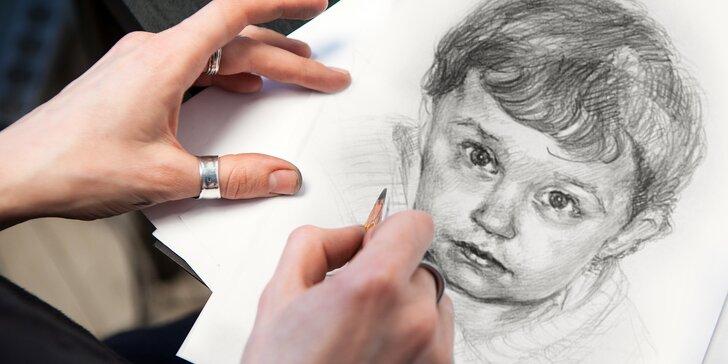 Jednodenní kurz kreslení pravou mozkovou hemisférou: termíny dle výběru