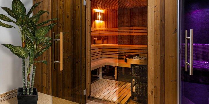 Relax kousek od Klínovce: 4* hotel s privátním wellness, pokoj s polopenzí nebo studio s kuchyní