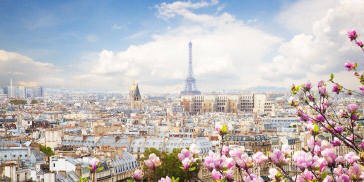 Zájezd do Paříže: letenka, 3x nocleh blízko metra a průvodce pro malou skupinu
