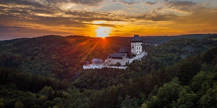 Kouzlo CHKO Český kras – ubytování s polopenzí v blízkosti Karlštejna