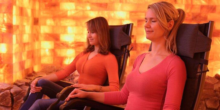 Odpočinek a zdraví: relaxační pobyt v solné jeskyni s vedenou meditací