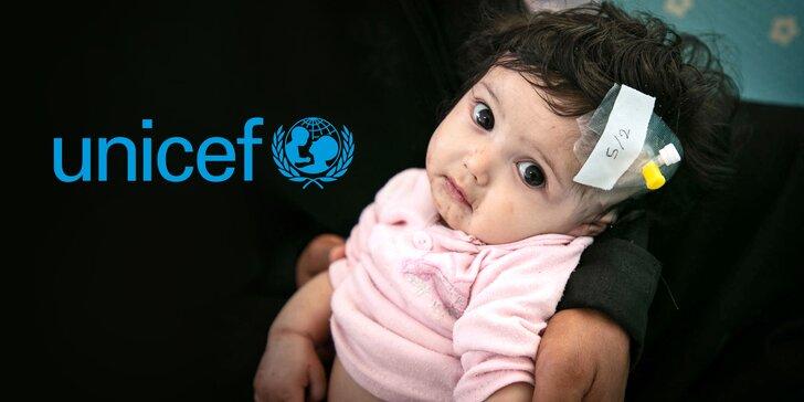 Pomozte s UNICEF zachránit děti v Jemenu: příspěvek na výživu, pitnou vodu i zdravotní péči