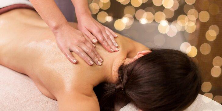 Klasická nebo relaxační masáž v délce 60 minut a domácí limonáda