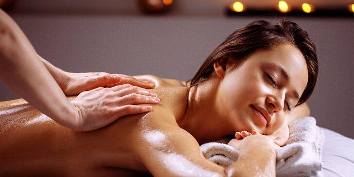 Aromaterapeutická masáž s oleji Nobilis Tilia v délce dle výběru