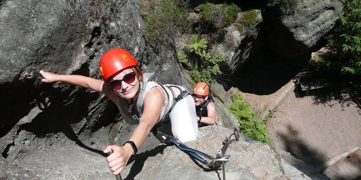 Via Ferrata: Bezpečný adrenalin při horolezení v Lužických horách