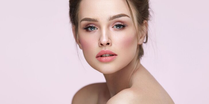 Kosmetické ošetření pleti včetně mikrodermabraze a masáže obličeje