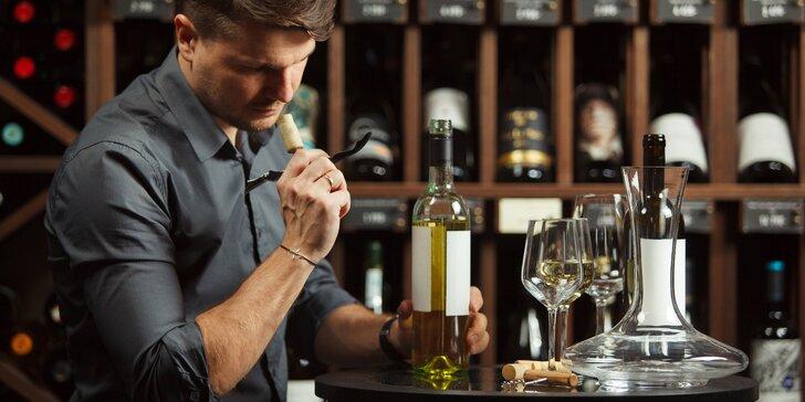 Degustační večer včetně tapas a exkluzivních vín z Ameriky, Francie, Rakouska aj.