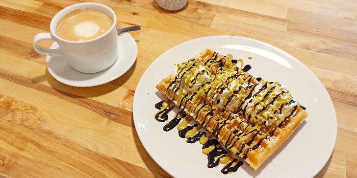 Dárkové poukazy do bistra Wafflove: 300 či 500 Kč na vafle, palačinky i lívance nebo kávu a koktejly