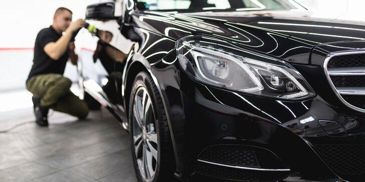 Car detailing vozu: ruční čištění interiéru i exteriéru s možností keramického povlaku