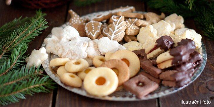 1–3 kg lahodného vánočního cukroví: 8 druhů, poctivé suroviny, možnost osobního vyzvednutí