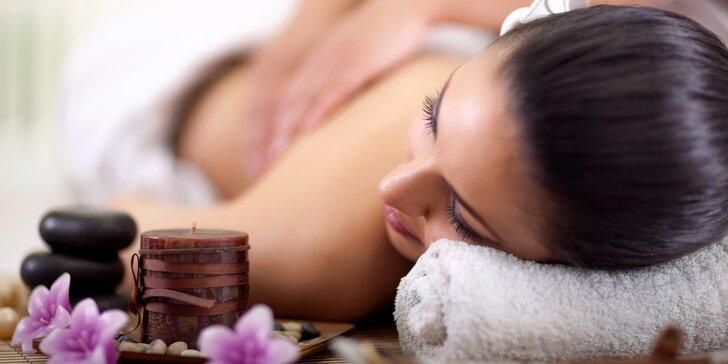 90 minut úžasného relaxu: celotělová masáž dle výběru ze 4 druhů