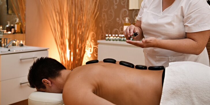 Blaho pro celé tělo: regenerační či havajská masáž nebo lávové kameny