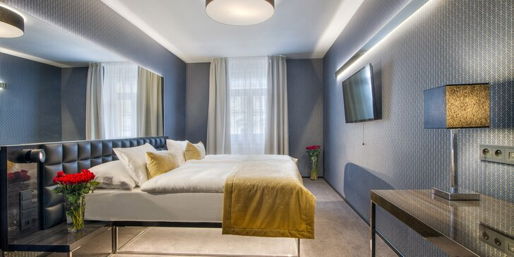 Praha zimní i letní: pobyt se snídaní v hotelu v Karlíně kousek od metra