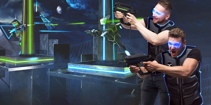 Užijte si paintball ve virtuální realitě: 10 profi map pro 4 až 6 hráčů