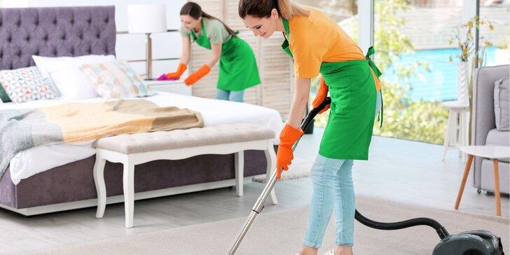 Profesionální úklid domácnosti: standardní i generální od 20 do 90 m²