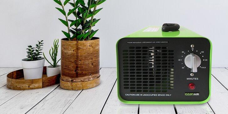 Zbavte se všech virů a pachů v bytě, autě i kanceláři: 24hod. či týdenní pronájem generátoru ozónu
