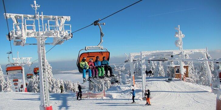 Zimní dovolená v Krušných horách: plně vybavený apartmán pro 2–6 osob nedaleko sjezdovek