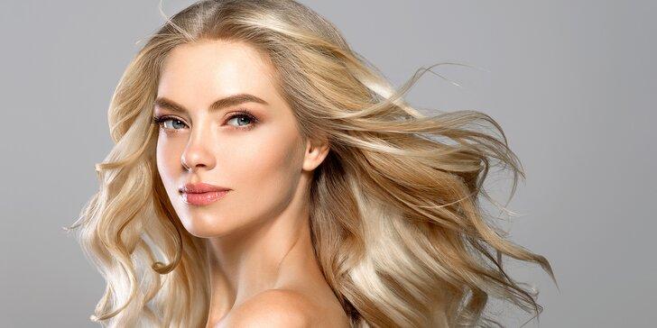 Kadeřnický balíček pro všechny délky vlasů: melír a profi střih k tomu