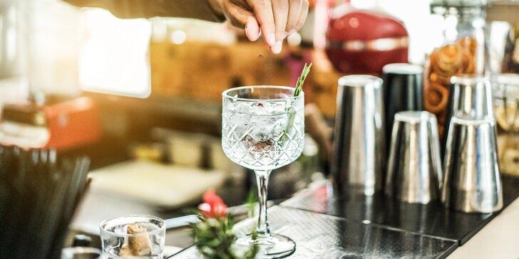 Degustace ginů a párování s toniky včetně odborného výkladu