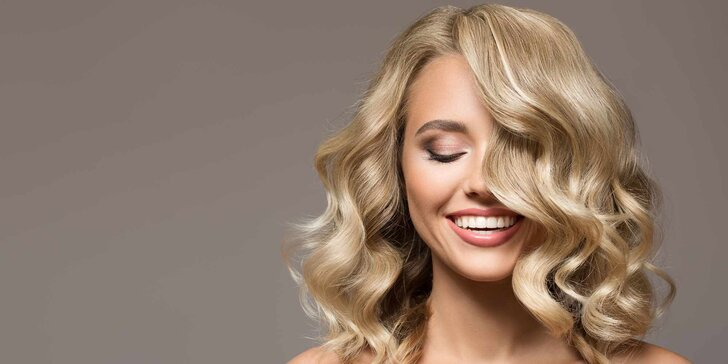 Kadeřnické balíčky pro všechny délky vlasů: střih, melír i barva včetně regenerace vlasů