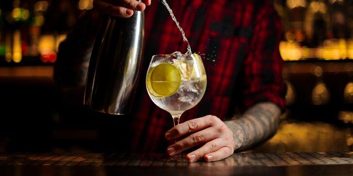 Ginový kurz s ochutnávkou 7 špičkových ginů ve Vršovicích pro 1 i 2 osoby