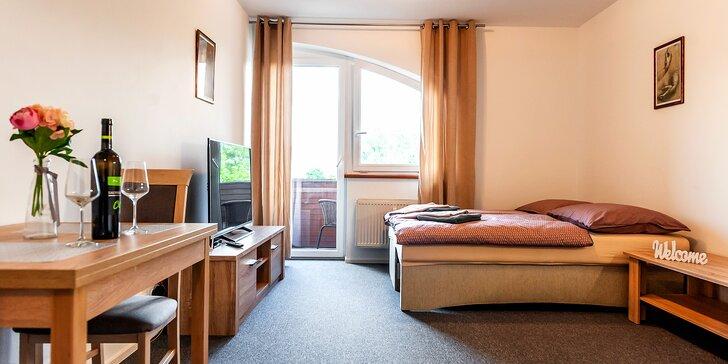 Komfortní apartmány pro 2-4 osoby v blízkosti Thermal parku Bešeňová