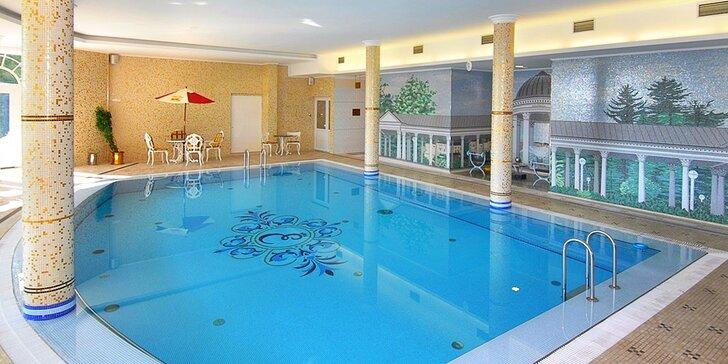 Luxusní 5* resort v Mariánských Lázních: snídaně, romantická večeře i bazén a wellness