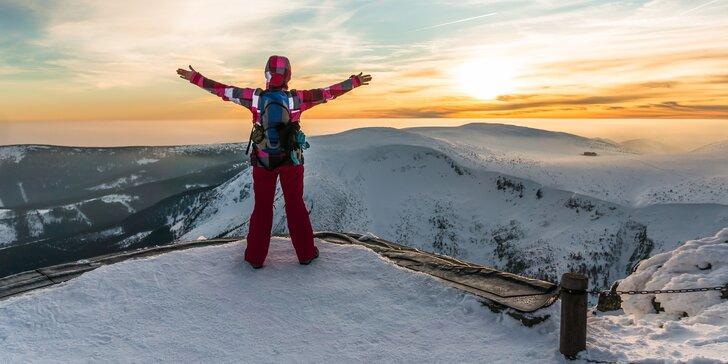Zimní pobyt v Peci pod Sněžkou: hotýlek kousek od lanovky na Sněžku a polopenze