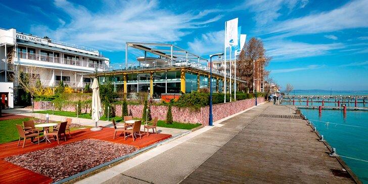 Parádní relaxace s neomezeným wellness ve 4* baby friendly hotelu u Balatonu