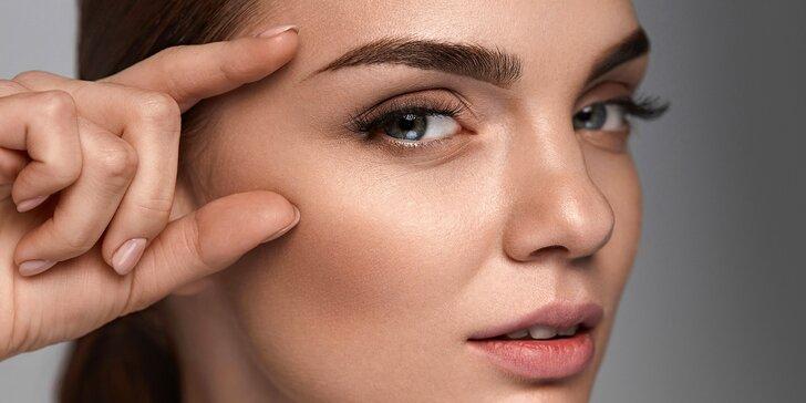 Krásnější tvář: úprava, barvení, laminace či proteinová rekonstrukce obočí