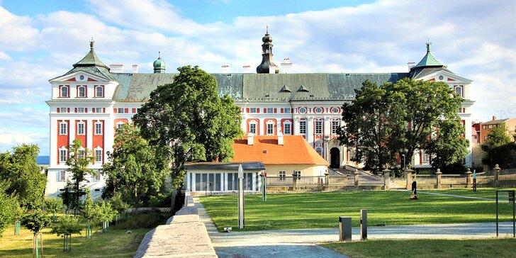 Božský klid broumovského kláštera: ubytování v nově renovované mnišské cele a snídaně
