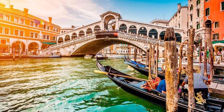 Víkendový výlet do Benátky s průvodcem