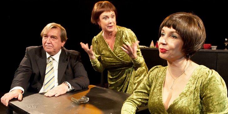 Vstupenka na divadelní komedii: Žena, která uvařila svého manžela
