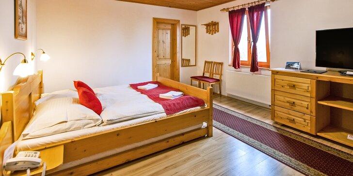 Pobyt v kolibě na Slovensku: snídaně, sauna či masáž i aquapark