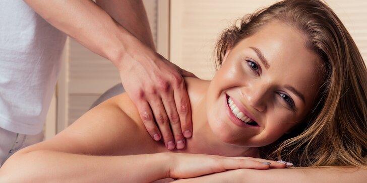 Masáž dle výběru v délce 60 až 90 minut: klasická, sportovní i regenerační