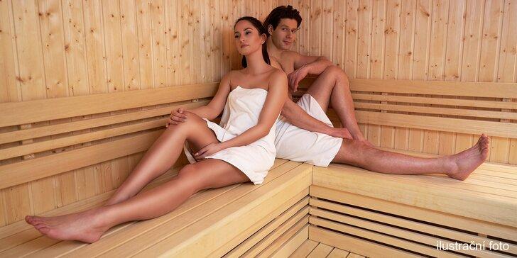Dopřejte si relax: 90 nebo 120 min. v privátní finské sauně i se sektem pro 2 osoby